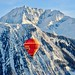 Balloon in the French Alps