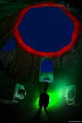 My Inner Vampire (john&mairi) Tags: new slains castle cruden bay aberdeenshire scotland uk derelict ruined abandoned night nocturnal solo alone me lightpainting smoke smokebomb torch octagonal room bram stoker dracula literature novels