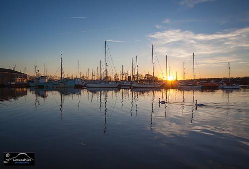 Glasson Dock Sunset