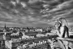Le Stryge, Notre-Dame de Paris, France 2009 (Baloulumix) Tags: 2009 baloulumix france julienfourniol julienfourniolbaloulumix notredamedeparis stryge