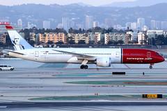 Norwegian | Boeing 787-9 | LN-LNJ | Los Angeles International (Dennis HKG) Tags: norwegian norwegianairshuttle norwegianlonghaul nax dy nlh du boeing 787 7879 boeing787 boeing7879 aircraft dreamliner airplane airport plane planespotting losangeles klax lax lnlnj canon 7d 100400