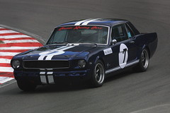 Robin North - Classic Racing Cars Ltd - Ford Mustang (Boris1964) Tags: 2005heritagegrandtourers brandshatch