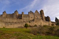 Carcassonne (estibalizguinea2) Tags: carccasonne france francia castillo castle monumento
