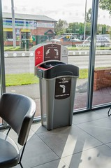 Eco Nexus® Cup Recycling Station (Glasdon UK) Tags: eco nexus cup recycling station glasdon econexus econexuscupbank econexuscuprecyclingbin