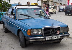 Tangier, Morocco (Renatas Repčinskas Photo) Tags: tangier morocco taxi mercedesbenz mercedes w123 car street life canon eos 600d africa lietuva lithuania trips travel traveling summer traffic