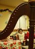 Through The Harp (Portraitsteve) Tags: harp woman strings korean focus