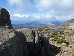 Mt. Wellington summit, Hobart, Tasmania (Diepflingerbahn) Tags: tasmania australia boulders mtwellington summit landscape view hobart brunyisland