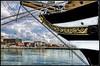 L' Amerigo Vespucci al porto di Livorno (robertar.) Tags: porto livorno vespucci nuvole toscana tuscany