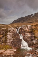 The Meeting of 3 Waters (Chris_Hoskins) Tags: scottishlandscape wwwexpressionsofscotlandcom scottishlandscapephotography landscape waterfall scotland glencoe