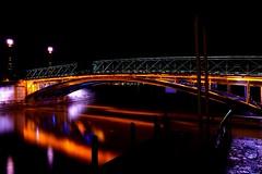 Light it up - Annecy (Carandoom) Tags: 2017 france annecy night long exposure light nuit bridge pont
