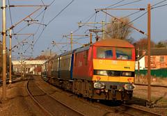 Happy Hogmany !!!! :} (ecmlsteve2) Tags: bellshill pride class 90 skoda 1z74 retford charter electric ac loco railway