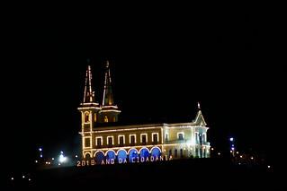 Igreja da Penha, RJ. Queima de Fogos na virada para 2018.