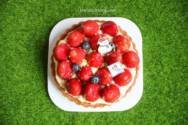 【宅配美食】樂天市場草莓甜點美食-食感旅程 多汁香甜繽紛草莓塔、美地瑞斯 新鮮草莓派、拿破崙先生草莓拿破崙 @J&A的旅行