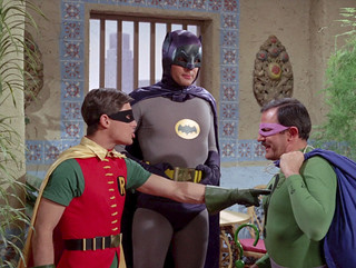 Batman and Robin Stumped by Riddler 2