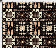 African Art Inspired Black (Julia Faranchuk) Tags: african pattern background ethnic abstract geometric texture seamless design fabric ornament print textile tribal art traditional fashion graphic native wallpaper decor element style vintage ancient decorative ornamental illustration line black trendy africa tile drawing backdrop culture retro drawn old modern spoonflower