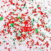 Christmas Confetti Background