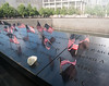 Ground Zero - July 4, 2017 (UrbanphotoZ) Tags: groundzero worldtradecenter memorial americanflags names flower july4 void hole downtown manhattan newyorkcity newyork nyc ny