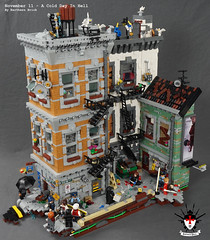 A Cold Day In Hell 2 by Barthezz Brick (Barthezz Brick) Tags: crime scene lego moc barthezz brick city police dreams custom barthezzbrick