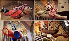 Modules inspirés de l'oeuvre de Jérôme Bosch, Jheronimus Bosch Art Center, S'Hertogenbosch, Brabant-Septentrional, Pays-Bas (claude lina) Tags: claudelina canon paysbas hollande holland nederland brabantseptentrional shertogenbosch boisleduc jérômebosch jheronimusboschartcenter modules