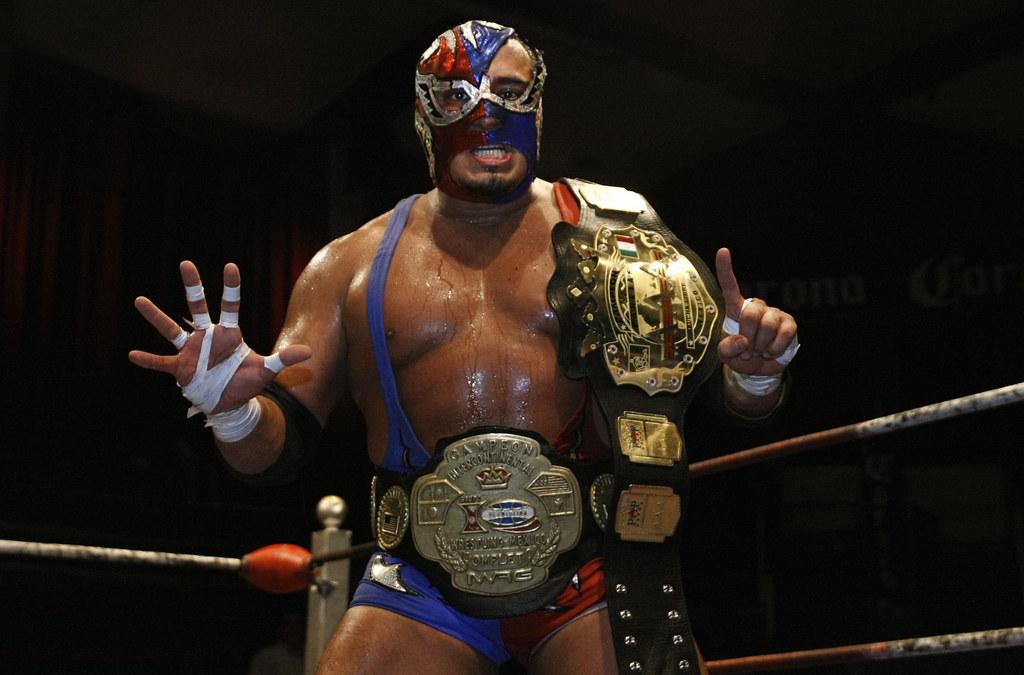 Silver King Wrestler