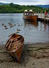 Wooden boats (WISEBUYS21) Tags: 14th june 2017 wild fowl derwent water lake district wooden boats still waters wisebuys21 passenger ship hills trees mountains gravel sand peir jetty mooring cumbria