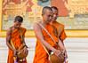 Early Breakfast (j_chim09) Tags: travel 攝影發燒友 dawn sunrise monks temple cambodia canon food breakfast solitude walking solemn serious people monastery ritual buddhist buddha ancient