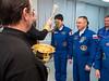 Expedition 54 Preflight (NHQ201712170052) (NASA HQ PHOTO) Tags: roscosmos russianorthodoxpriest kazakhstan expedition54preflight baikonurcosmodrome norishigekanai cosmonauthotel expedition54 baikonur kaz nasa joelkowsky