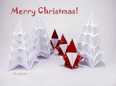 P71218-151454m (polelena24) Tags: christmas origami firtree santa