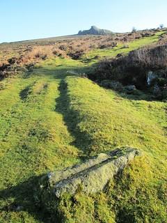Emsworthy Dislodged Rail and Haytor