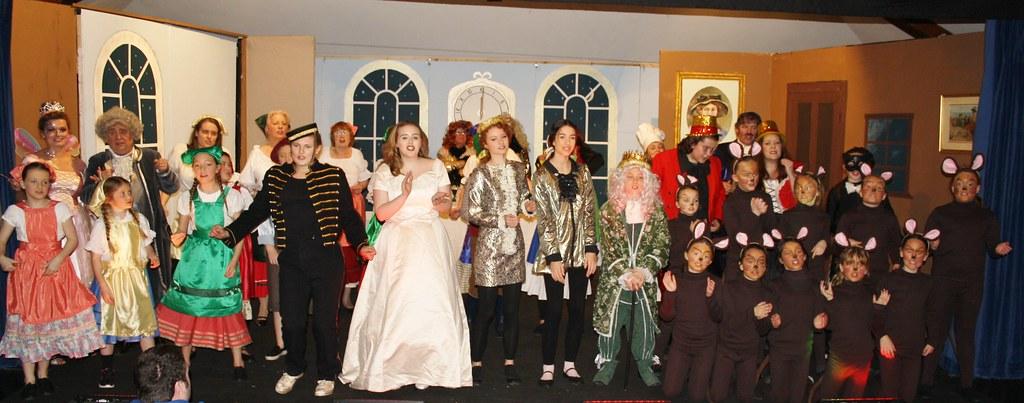 Cinderella all cast finale
