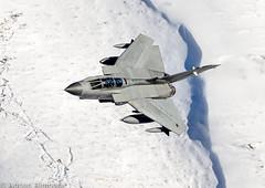 Tornado GR4  Monster 01 flight first sighting (adovision) Tags: mach loop winter low level military aircraft wales lfa 07 raf gr4 tornado marham 01 02 monster flight