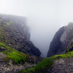 Gorge at the top of Ben Nevis thumbnail