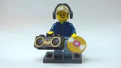 Brick Yourself Custom Lego Figure Portable DJ