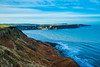Runswick Bay from Kettleness Cliffs (Geordie_Snapper) Tags: canon1635mm canon5d3 canon2470mm coldday december gaduatedfilters kettlenesscliffs landscape lateafternoon northyorkshiremoors runswickbay sea winter