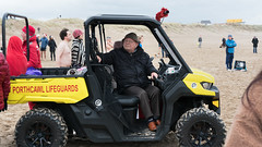 Porthcawl-Lifeguards (stevedexteruk) Tags: porthcawl wales uk seaside lifeguard lifeguards beach 2017 christmas swim christmasday christmasswim porthcawlswim coney sandybay buggy