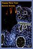 Bonne année 2018 / Happy New Year 2018 (christian_lemale) Tags: illumination tours place jean jaurès ours bear france nikon d7100