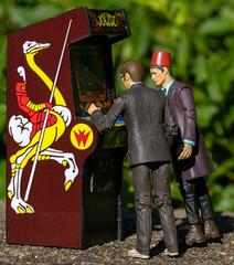 We need to work together (atari_warlord) Tags: 375 actionfigure arcade arcademachine bigjw doctorwho joust justinwhitlock thedayofthedoctor undergroundtoys williams