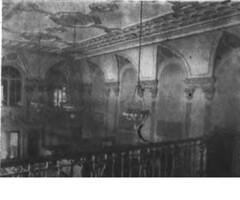 Moore State Bank (looking So frm Balcony), Monticello, IL 1926-05-20 (RLWisegarver) Tags: piatt county history monticello illinois usa il