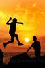 Τα παιδία ίπταται Flying child (Dimitil) Tags: molyvos mythimna lesvos greece hellas islands greekislands aegean aegeansea northaegeanseaislands children sunset summer vacations people silhouette
