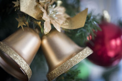 'Deck the halls'.... (Taken-By-Me) Tags: takenbyme tree bell bells christmas macro macromondays nikon d750 bokeh