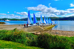 Scotland West Highlands Argyll sailing school island of Cumbrae 9 August 2017 by Anne MacKay (Anne MacKay images of interest & wonder) Tags: scotland west highlands argyll sea coast yachts sailing school island cumbrae 9 august 2017 picture by anne mackay