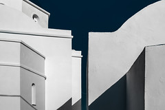 Ira (Vasilis Kotsinis) Tags: iraklia irakleia greece greekislands cyclades aegean mediterranean island architecture abstract minimal nikon nikond5200 d5200 blue white church dome temple