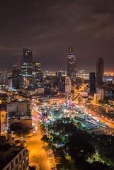 Ho Chi Minh city Nachtaufnahme