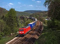 DB 185 246 (maurizio messa) Tags: br185 traxx bombardier germania germany guterzuge cargo mau bahn bayern ferrovia freighttrain fret treni trains railway railroad nikond7100