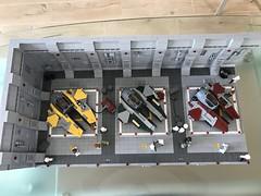 LEGO® Star Wars: Interceptor Starfighter Hangar 2.0 - 03 (jm_aalen) Tags: lego® moc afollu star wars starwars greebles starfighter space spaceship nurbies republic cockpit widget battle gunship interceptor hangar eta2 actis