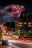 Racing into 2018 like... (ashpmk) Tags: night nightphotography nights midnight light lighttrails lights lighttrail fireworks fire newyear new year celebration celeb seattle seattlelife was washington washingtonstate