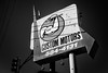 flex that wrench (fallsroad) Tags: tulsaoklahoma urban thepearl city garage repair custommotors bw blackandwhite monochrome business building sign vintage