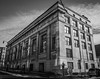 Old Bank Building (tim.perdue) Tags: columbus ohio downtown urban city building architecture olympus omd em10mkii tamron 14150mm old bank closed empty abandoned sunlight shadow pattern reflection black white bw monochrome sky clouds national vacant 1914 neoclassical
