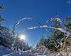 Icy Worm's-Eye View - eisige Froschperspektive (W_von_S) Tags: winter snow icywormseyeview sun sunburst sonnenstern sonne schnee schneelandschaft snowlandscape snowscape perspektive perspective pov white blue landschaft landscape panorama paysage paesaggio winterlandschaft winterpanorama natur nature steinhöring ebersberg bavaria bayern germany deutschland wvons werner sony sonyilce7rm2 december dezember 2017 outdoor