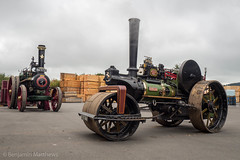 Bishops Castle Michaelmas Fair (Ben Matthews1992) Tags: 2017 bishops castle michaelmas fair carnival salop shropshire england british old vintage historic preserved preservation vehicle transport haulage steam traction engine locomotive 1917 aveling porter roller 8794 ophelia fx7043 foster winnie ma5730 6nhp 3nhp bld 6ton